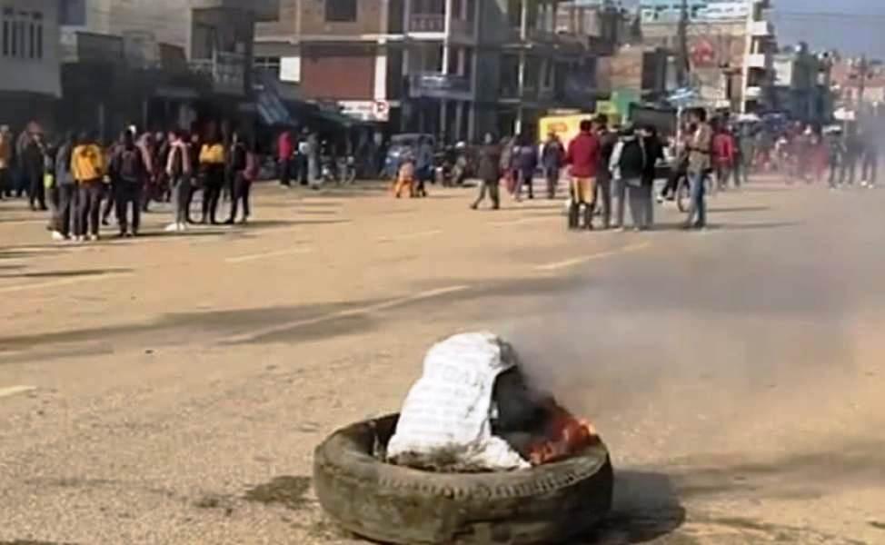 सुर्खेतकाे वीरेन्द्रनगरमा साँझदेखि कर्फ्यू आदेश जारी