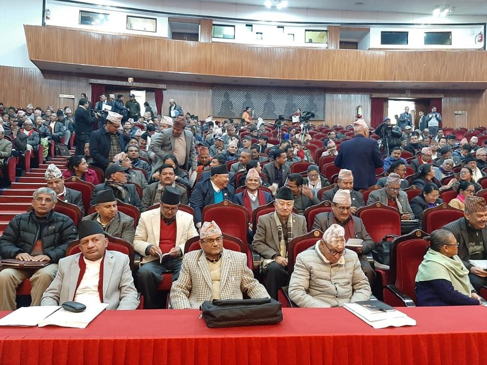 नेकपा केन्द्रीय कमिटि बैठक सुरु हुँदै