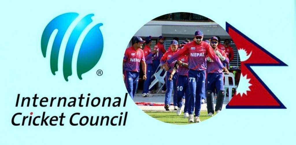 क्रिकेटकाे विश्व वरियतामा नेपाल यथावत्