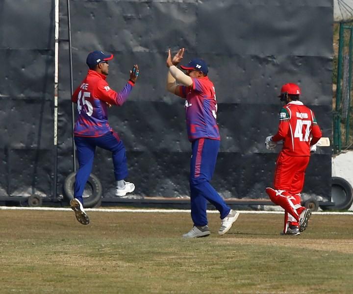 आइसिसी विश्वकप लिग दुई : नेपाल घरेलु मैदानमा ओमानसित पराजित