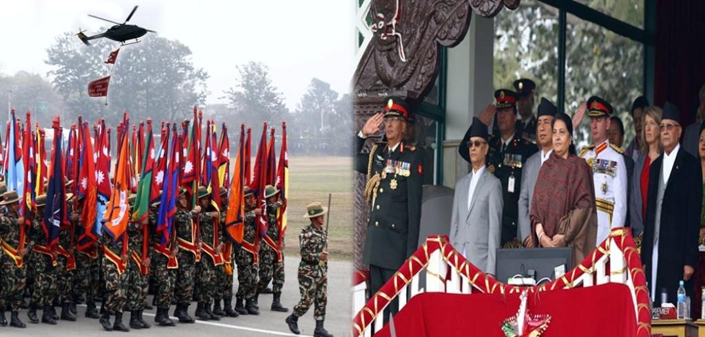 नेपाली सेनाद्वारा टुँडिखेलमा व्यावसायिक कार्यकुशलता प्रस्तुत(फाेेटाेसहित)