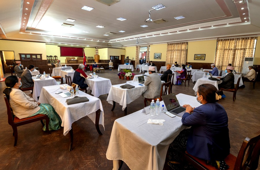मन्त्रिपरिषद् बैठक शुरु, लकडाउन र स्वास्थ्य सामग्री खरिदको बिबाद मूल एजेण्डा