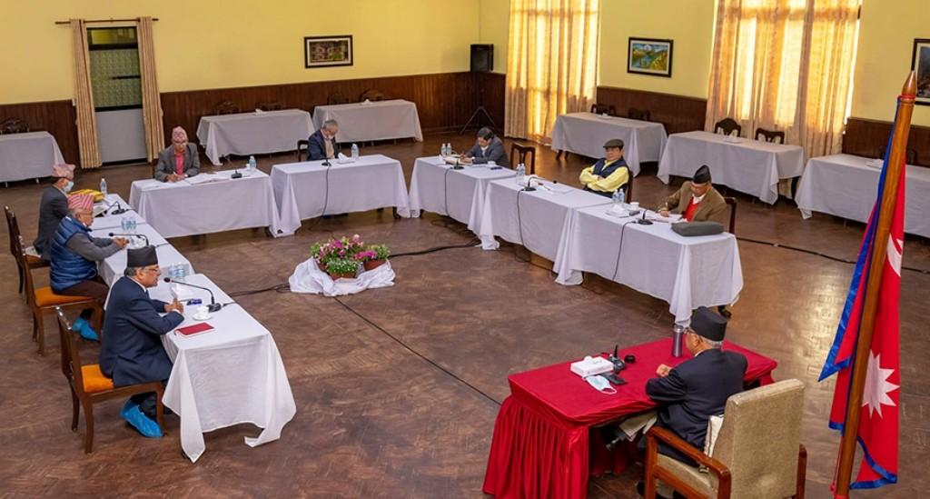 संसदबाट अनुमोदन नभएसम्म  एमसिसीका कार्यक्रम रोक्ने नेकपा सचिवालयकाे निर्णय