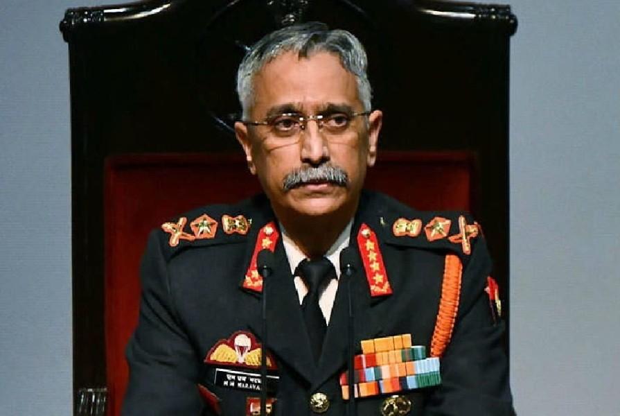 नेपालको भारत विरोधी गतिविधिमा चीनको भूमिका : भारतीय सेना प्रमुख
