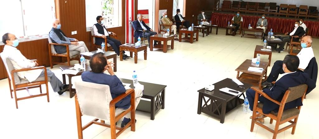 कांग्रेसकाे महाधिवेशन फागुन ७ देखि काठमाडौंमा गर्ने निर्णय