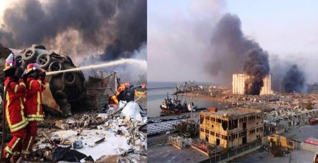 लेबनानको राजधानी बेरुतमा शक्तिशाली विष्फाेट: कम्तीमा ७० को मृत्यु, कयाैं घाइते