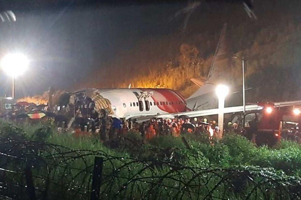 एअर इन्डियाकाे विमान दुर्घटनामा चालकसहित १७ जनाको मृत्यु
