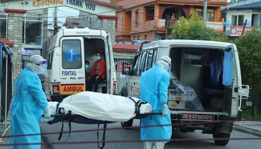 कोरोनाबाट पोखरामा ६२ वर्षीय पुरुषको  मृत्यु
