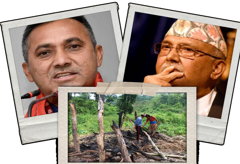 प्रधानमन्त्री ओलीलाई कांग्रेस प्रवक्ताको प्रश्नः 'भक्त चेपाङको घर जलाउने अनि भगवान रामको मन्दिर बनाउने?'