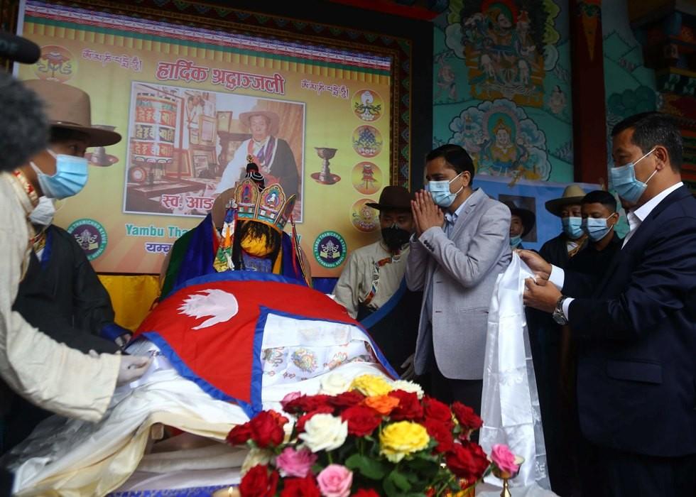 'हिमचितुवा' आङरिता शेर्पाको राष्ट्रिय सम्मानका साथ अन्त्येष्टि