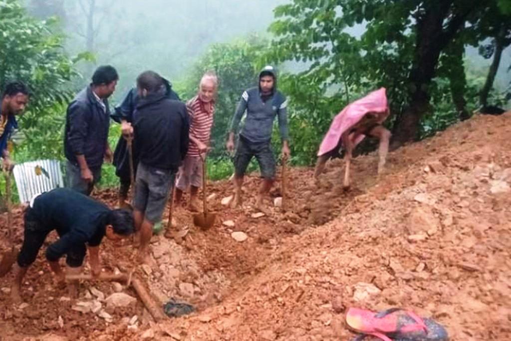 देशका विभिन्न स्थानमा बाढीपहिराेबाट १४ को मृत्यु, ७ जना बेपत्ता