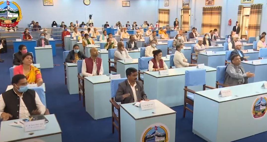 प्रदेश ५ को स्थायी राजधानी देउखुरी र नाम लुम्बिनी राख्ने प्रस्ताव दुईतिहाइले पारित