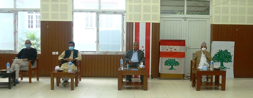 कांग्रेस केन्द्रीय समिति बैठक,  महाधिवेशनको संशोधित कार्यतालिकामा केन्द्रित