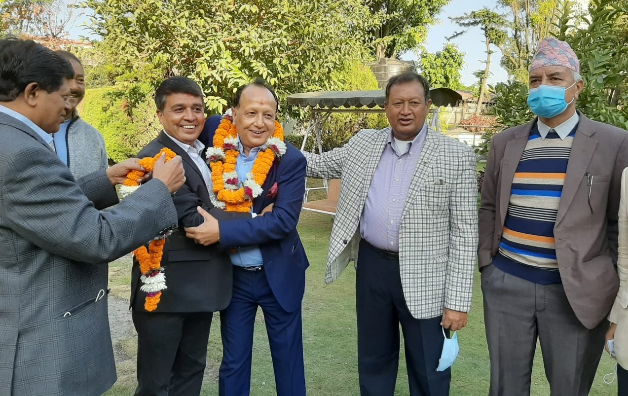 ढकाल प्यानलको विजयी यात्रा सुरु, दुई केन्द्रीय सदस्य निर्विरोध निर्वाचित