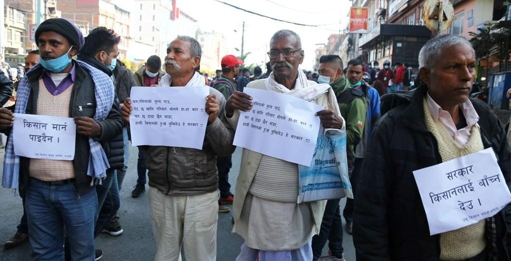 उखु किसानले सबै रकम भुक्तानी पाएनन्ः भुक्तानी नभएपछि आन्दोलनकाे तयारी