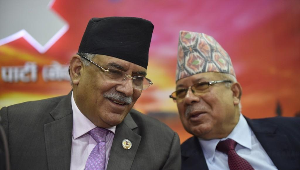 तत्कालै स्थायी र केन्द्रीय कमिटी बैठक बोलाउने प्रचण्ड–नेपाल समूहकाे  निर्णय