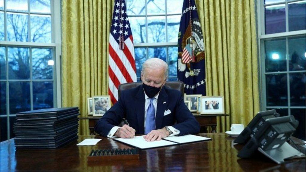 अमेरिकी राष्ट्रपति बाइडनले पहिलो दिनमैउल्ट्याइदिए ट्रम्प प्रशासनका नीति