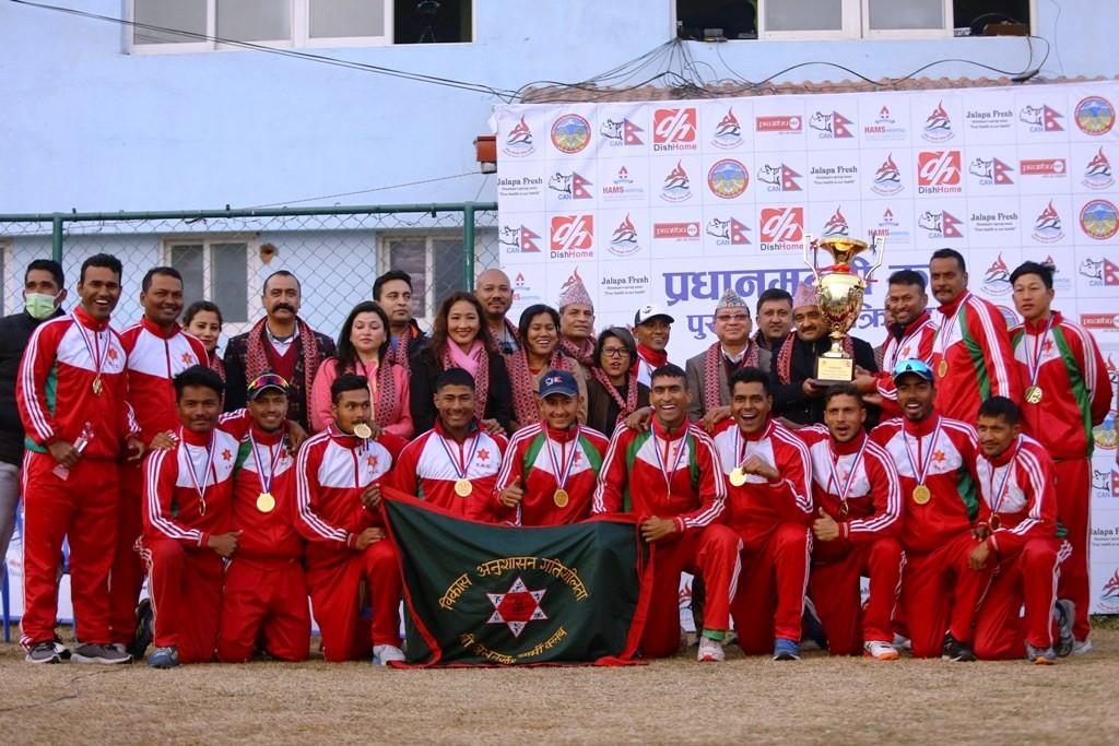 त्रिभुवन आर्मी क्लबलाई प्रधानमन्त्री कप एकदिवसीय क्रिकेटको उपाधि