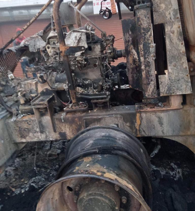 लमजुङमा निर्माण उपकरणमा भएकाे आगजनीप्रति महासंघकाे गम्भीर ध्यानाकर्षण
