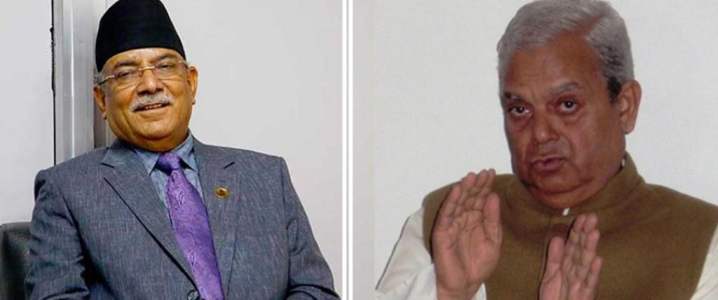 दाहाल-नेपाल पक्षकाे सत्ता साझेदारी प्रस्तावमा जसपाले राख्यो सर्त