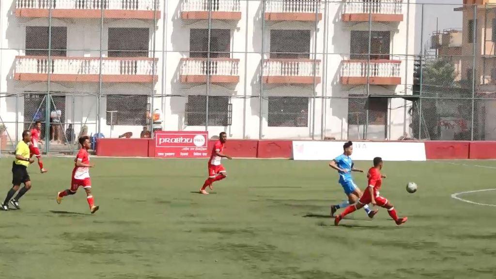 आरसिटीद्वारा टुसाल युथ क्लब १–० ले पराजित
