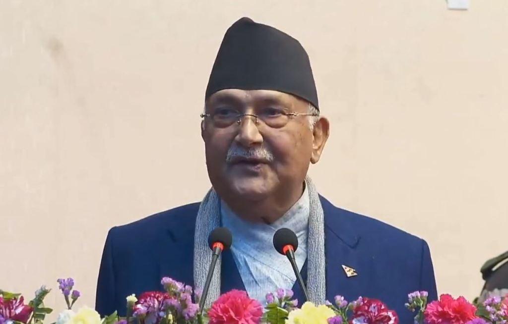 नेपाल अब शान्तिपूर्ण युगमा प्रवेश: प्रधानमन्त्री ओली