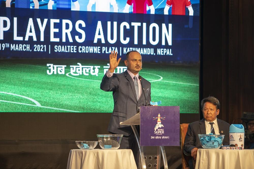 नेपालमा पहिलो पटक खेलाडी लिलामी !