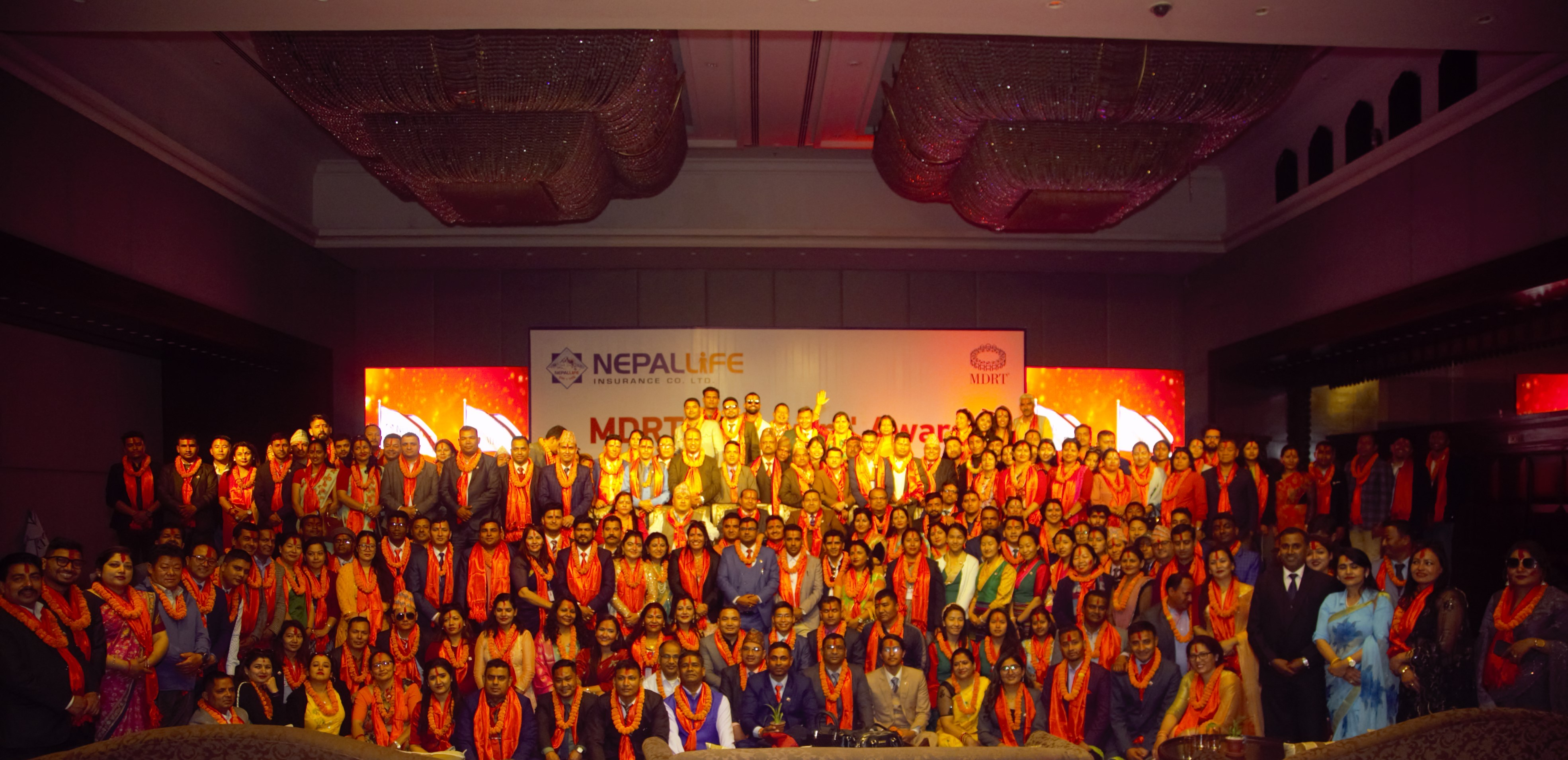 नेपाल लाइफको एमडीआरटी सम्मान