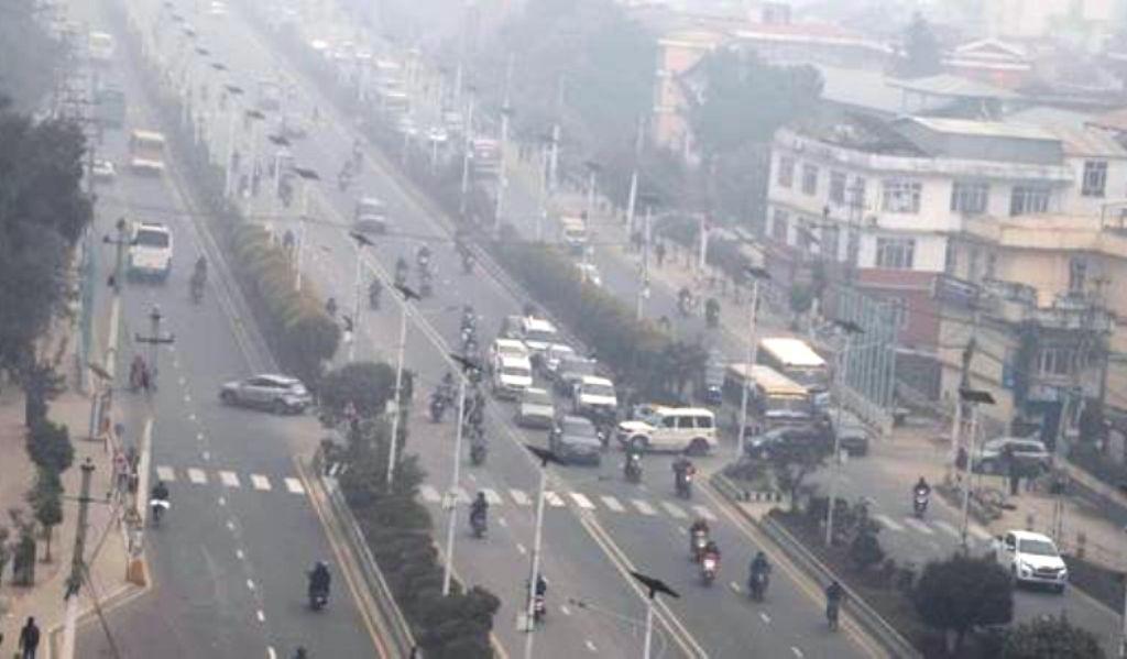 काठमाडौँ  फेरि विश्वको वायु प्रदूषित शहरकाे  एक नम्बरमा