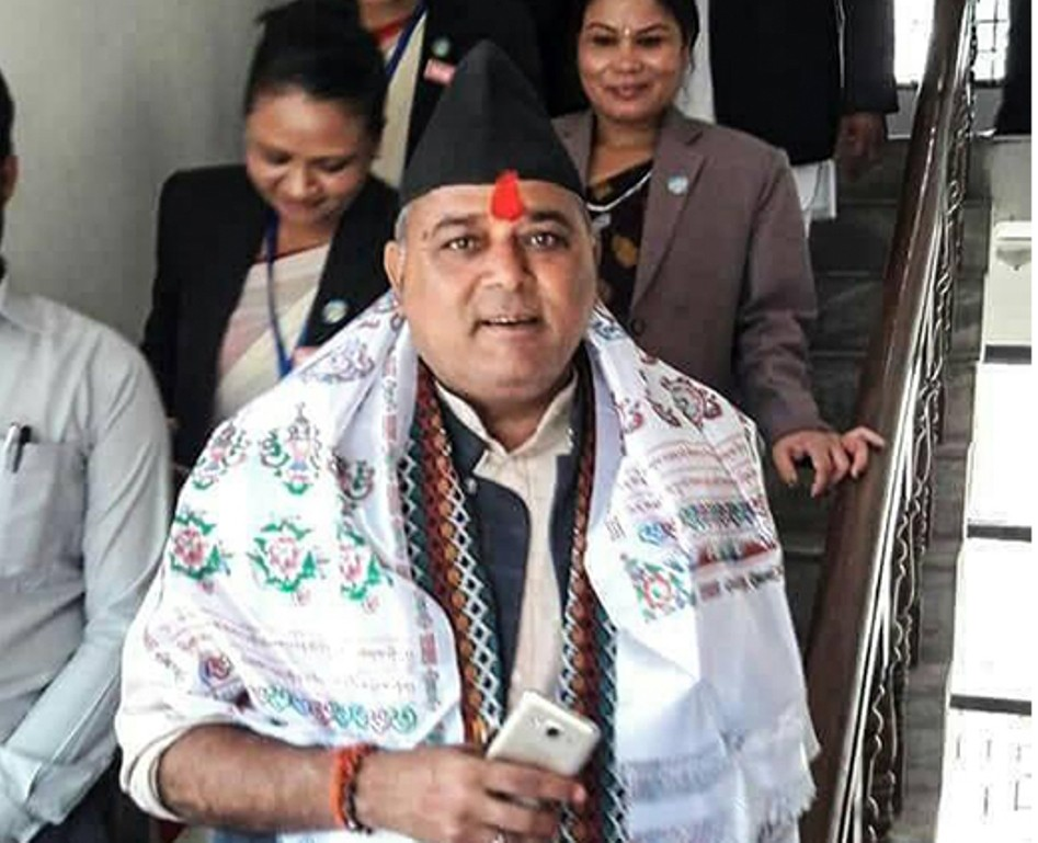 लुम्बिनी प्रदेशको राष्ट्रियसभा उपनिर्वाचनमा कांग्रेसका उम्मेदवार  पाण्डेय निर्वाचित