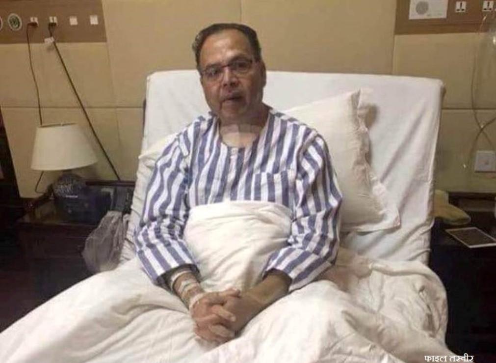 पूर्वप्रधानमन्त्री खनाललाई थप उपचारका लागि दिल्ली लगियाे