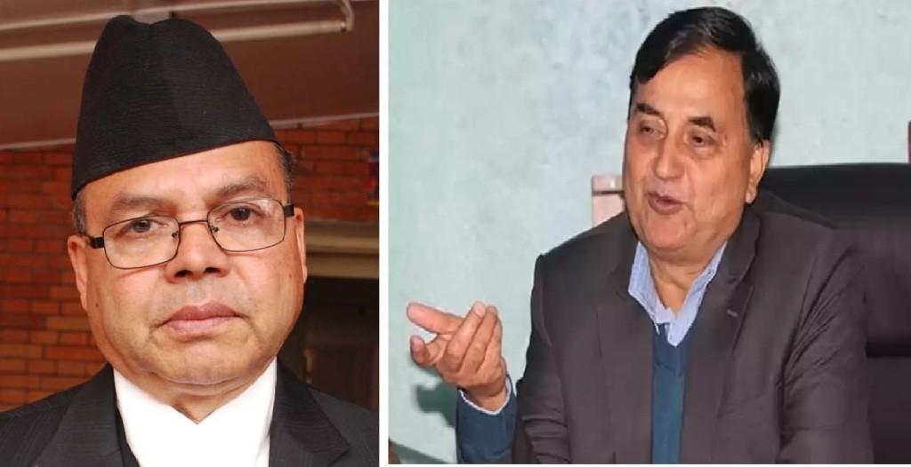 भारत जाँदै गर्दा नेता खनालले महासचिव पोखरेललाई भने,'पार्टी मिलाउनुस् है कमरेड'