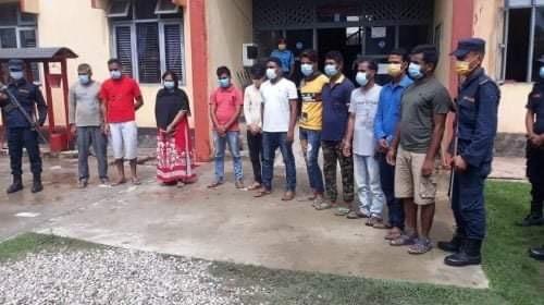 माओवादी नेता पाण्डेको हत्यामा संलग्न अभियुक्तहरु जेल चलान