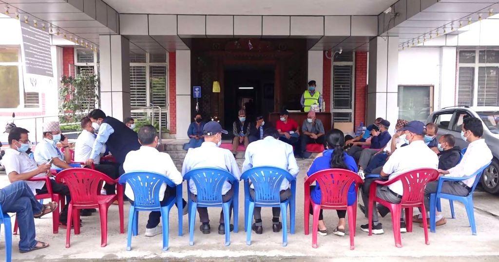 नयाँ नियमावलीको विरोधमा टेलिकमका कर्मचारी आन्दोलित