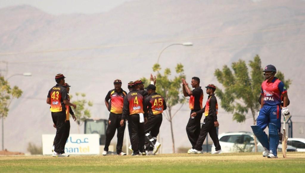 पपुवा न्युगिनीविरुद्धको एकदिवसीय क्रिकेटमा नेपाल विजयी