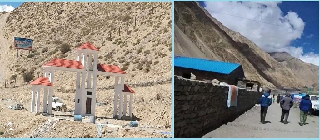 नेपाल–चीन सीमा अध्ययन गर्नगृह मन्त्रालयको टोली हिल्सा पुग्यो