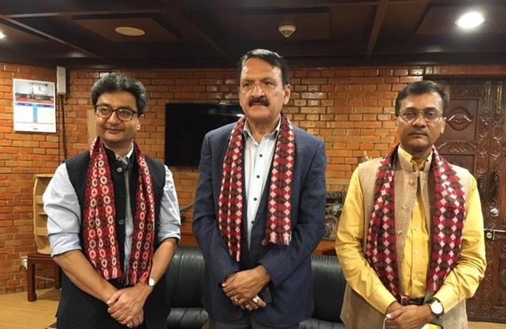 भारत गएकाे कांग्रेस प्रतिनिधिमण्डल स्वदेश फर्कियाे