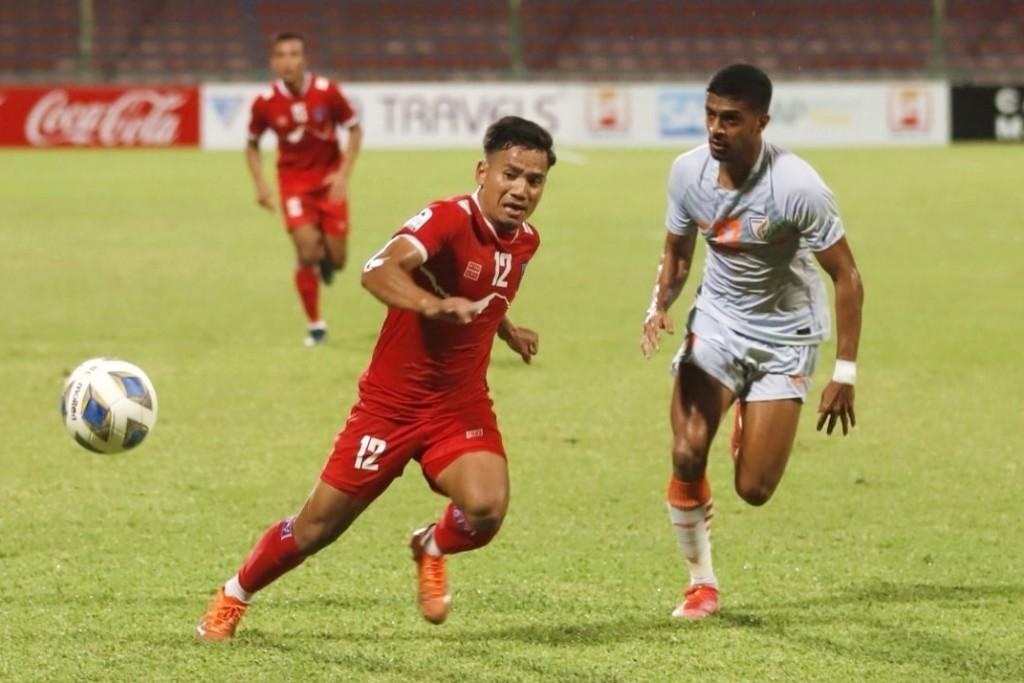 नेपाल भारतसँग १-० ले पराजित