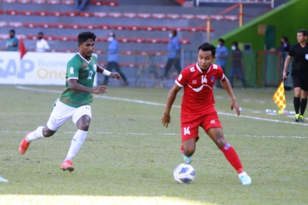 नेपाल पहिलाे पटक साफ च्याम्पियनसीपकाे फाइनलमा